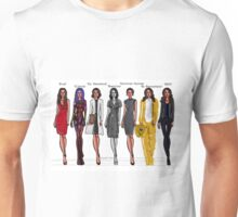 Amy Acker characters Unisex T-Shirt