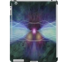 Green Waves of Sound iPad Case/Skin