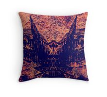Angel of Darkness Throw Pillow