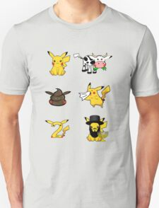 Pika Variations Unisex T-Shirt