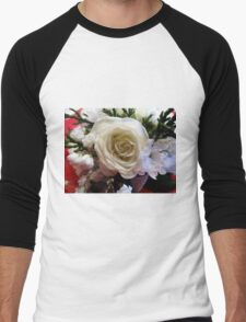 Roses & Pearls Men's Baseball ¾ T-Shirt