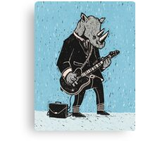 Corporate Rock Canvas Print