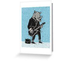 Corporate Rock Greeting Card
