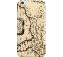 Vintage Map of Florida (1657) iPhone Case/Skin