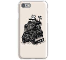Panda's Skull Tank Vintage Style iPhone Case/Skin