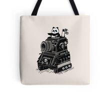 Panda's Skull Tank Vintage Style Tote Bag