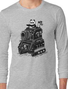 Panda's Skull Tank Vintage Style Long Sleeve T-Shirt