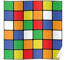 Multi Cube Poster