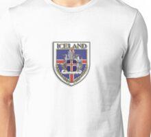 Iceland Shield Unisex T-Shirt