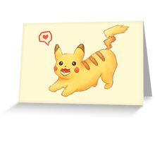 Corgichu Greeting Card