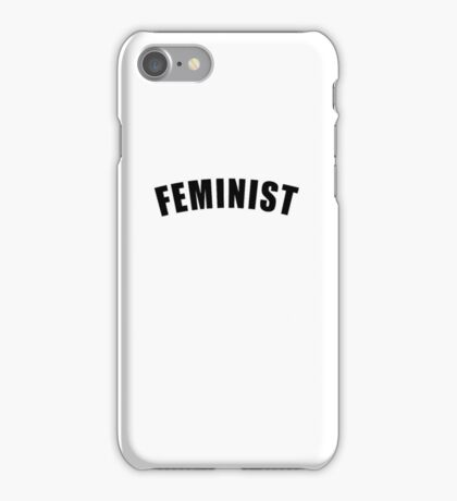 Feminist iPhone Case/Skin