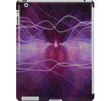 Pink Waves of Sound iPad Case/Skin