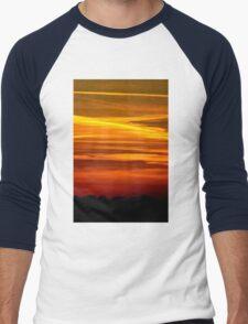 Paint the Sky Gold Men's Baseball ¾ T-Shirt
