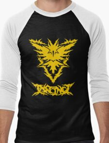 Brutal Team Instinct - Yellow Men's Baseball ¾ T-Shirt