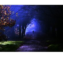 Into the shadows Photographic Print