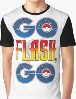 (POKÉMON MASH UP) GO FLASH, GO Graphic T-Shirt