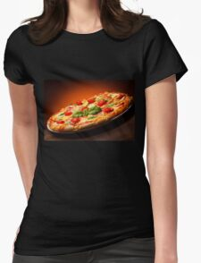 Italian Pizza Womens Fitted T-Shirt