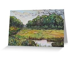 Hammonasset Marsh No.1 Greeting Card