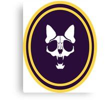 Murder Monarch oval emblem Canvas Print