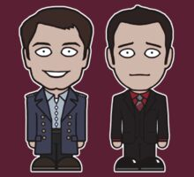 Jack and Ianto (shirt) by redscharlach