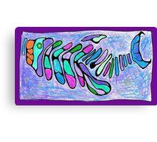 Polychromatic Segmented FISH Canvas Print