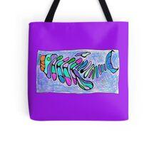Polychromatic Segmented FISH Tote Bag