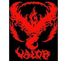 Brutal Team Valor - Red Photographic Print