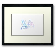 UCLA Bruins Framed Print