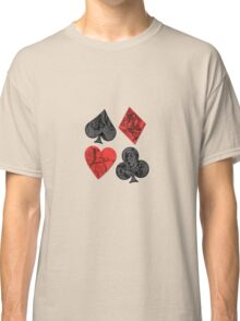 Alice in Wonderland Suits Classic T-Shirt