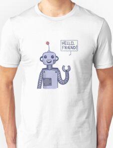 a friendly robot Unisex T-Shirt