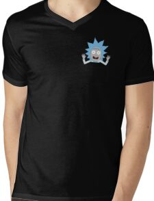 Tiny Rick Pocket Tee Mens V-Neck T-Shirt