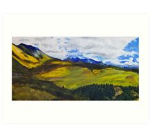 View From Last Dollar Road Art Print
