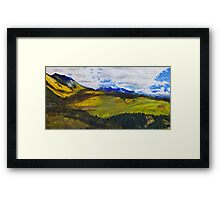 View From Last Dollar Road Framed Print