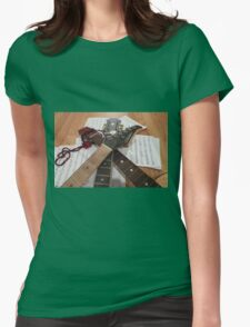 Strings & Things Womens Fitted T-Shirt