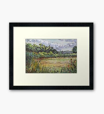 Hammonasset Marsh No. 2 Framed Print