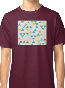 Colorful Triangles Classic T-Shirt