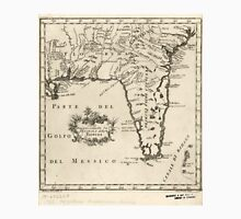 Vintage Map of Florida (1763) 2  Unisex T-Shirt