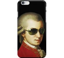Wolfgang Amadeus Mozart with sunglasses Pianist Composer musician  iPhone Case/Skin