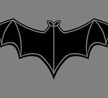 1949 - Batman Serials Chest Symbol by Jaybergs