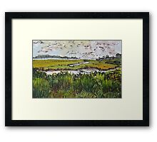 Hammonasset Marsh No. 3 Framed Print