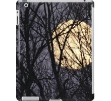Full Yellow Moon iPad Case/Skin