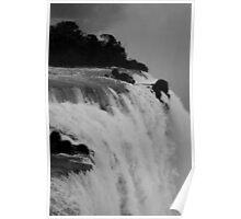 Iguassu Falls, Rio Poster