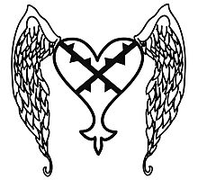 Heartless Tattoo Photographic Print