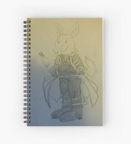 Buster Baxter as Seto Kaiba Spiral Notebook