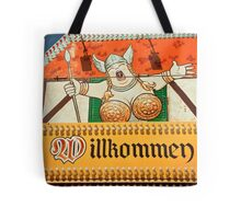 Willkomen Tote Bag