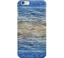 Patterns of Waveletts at Cape Henlopen State Park, iPhone Case/Skin