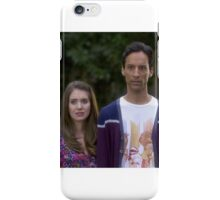 Annie and Abed iPhone Case/Skin