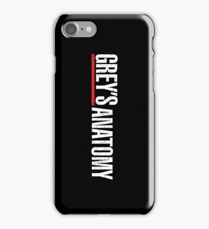 Grey's Anatomy Logo iPhone Case/Skin