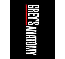 Grey's Anatomy Logo Photographic Print