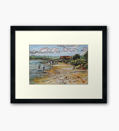 Hammonasset Beach Framed Print
